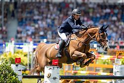 HANLEY Cameron (IRL), Eis Isaura<br /> Aachen - CHIO 2018<br /> Preis von Nordrhein-Westfalen<br /> 20. Juli 2018<br /> © www.sportfotos-lafrentz.de/Stefan Lafrentz