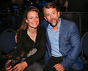 DEN BOSCH, THE NETHERLANDS. 2017, MAY 20. Waldemar Torenstra en Sophie Hilbrand bij Glory Kickboxing 41 Holland in de Brabanthallen.