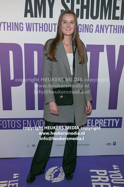 Nederlandse premiere van de film I Feel Pretty bij Pathe ArenA. Op de foto: Esmee Geel