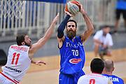 Luigi Datome<br /> Nazionale Italiana Maschile Senior<br /> Torneo dell Acropolis<br /> Georgia Italia Georgia Italy<br /> FIP 2017<br /> Atene, 25/08/2017<br /> Foto Ciamillo - Castoria / GiulioCiamillo