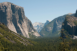 Yosemite Valley from Tunnel Viewpoint, Yosemite National Park, California, USA.  Photo copyright Lee Foster.  Photo # california121273