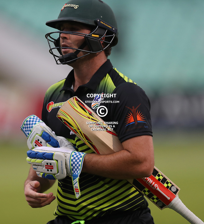 Jon-Jon Smuts (captain) of the Warriors during the Hollywoodbets Dolphins and Warriors T20 T20 Challenge.Sahara Stadium, Kingsmead Durban, South Africa.13 November 2016 - (Photo by Steve Haag)