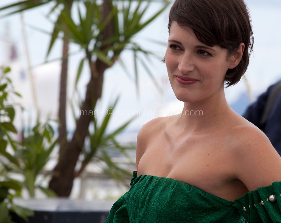 Actress Phoebe Waller-Bridge at the Solo: A Star Wars Story film photo call at the 71st Cannes Film Festival, Tuesday 15th May 2018, Cannes, France. Photo credit: Doreen Kennedy