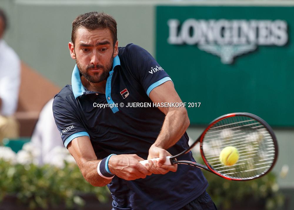 MARIN CILIC (CRO)<br /> <br /> Tennis - French Open 2017 - Grand Slam / ATP / WTA / ITF -  Roland Garros - Paris -  - France  - 7 June 2017.