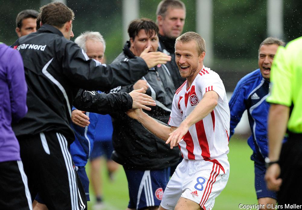 DK Caption:<br /> 20110827, K&oslash;ge, Danmark:<br /> Superliga fodbold, HB K&oslash;ge - AAB:<br /> Rasmus W&uuml;rtz, Aab Aalborg. har scoret til 1-0<br /> Foto: Lars M&oslash;ller<br /> <br /> UK Caption:<br /> 20110827, Koege, Denmark:<br /> Superleague football  HB Koege - AAB:<br /> Rasmus W&uuml;rtz, Aab Aalborg. har scoret til 1-0<br /> Photo: Lars Moeller