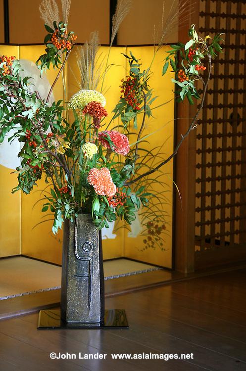 Ikebana In An Alcove