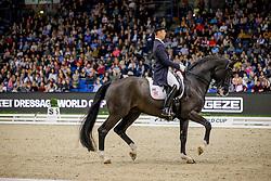 Werndl Benjamin, GER, Daily Mirror 9<br /> Stuttgart - German Masters 2019<br /> © Hippo Foto - Stefan Lafrentz