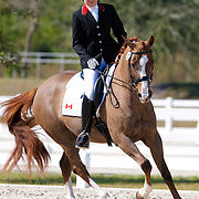 Shanea Millett and Dolce during the 2013 Wellington Classic Dressage Sunshine Challenge at the Jim Brandon Equestrian Center in West Palm Beach, Florida.