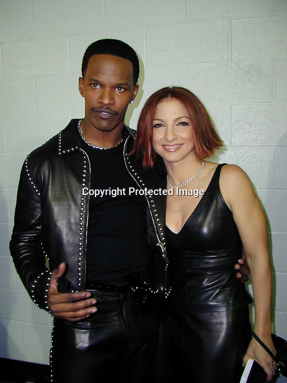 Jamie Foxx &amp; Gloria estefan<br />