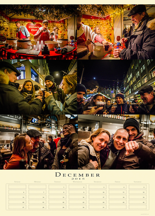 Calendar 2015, Farwell present
