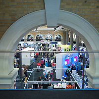 London, UK - 4 September 2014:  A general view of the 3D Printshow at the Old Billingsgate in London. 3D Printshow brings together the biggest names in 3D printing technology alongside the most creative, exciting and innovative individuals using additive processes today.