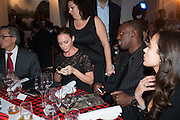 STELLA MCCARTNEY; USAIN BOLT,  Fundraising Gala for the Zeitz foundation and Zoological Society of London hosted by Usain Bolt. . London Zoo. Regent's Park. London. 22 November 2012.