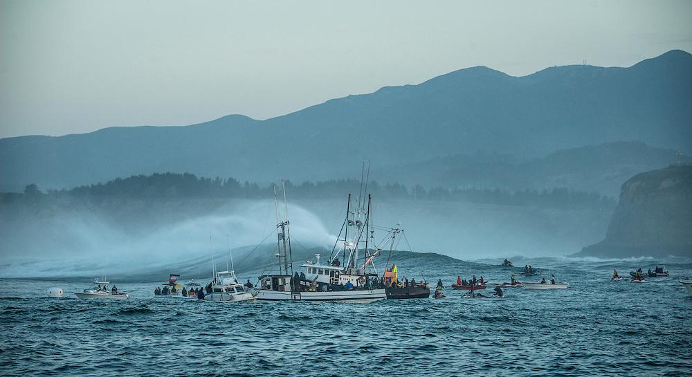 Mavericks 2014, Half Moon Bay, The Areana