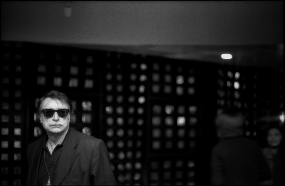 PORTRAITS / RETRATOS<br /> <br /> Ignacio Ramonet<br /> Escritor Frances<br /> Caracas - Venezuela 2004<br /> <br /> (Copyright &copy; Aaron Sosa)