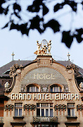 Grand Hotel Europa, Prague, Czech Republic.