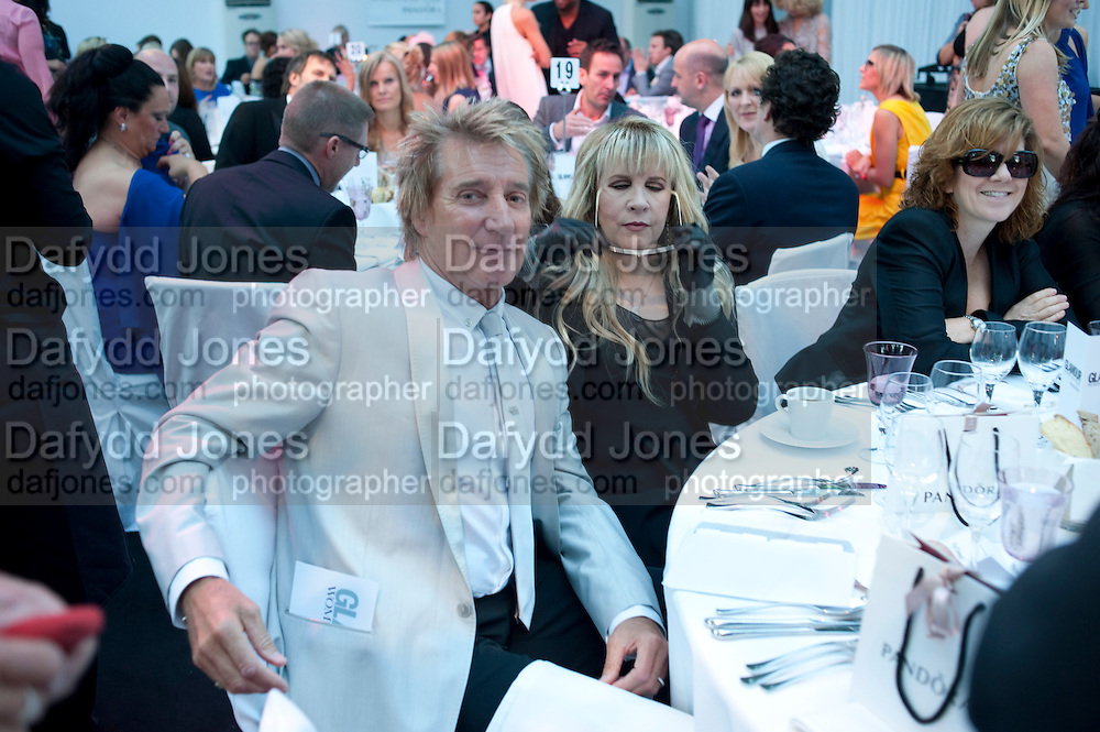 Rod Stewart; Stevie Nicks,  Glamour Women of the Year Awards 2011. Berkeley Sq. London. 9 June 2011.<br /> <br />  , -DO NOT ARCHIVE-© Copyright Photograph by Dafydd Jones. 248 Clapham Rd. London SW9 0PZ. Tel 0207 820 0771. www.dafjones.com.
