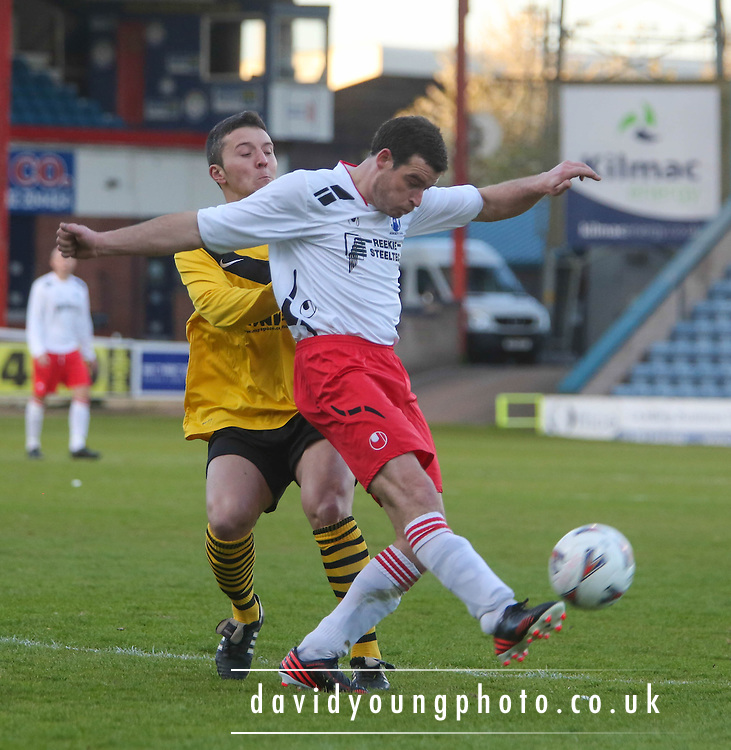 - Arbroath CSC (white) v Riverside (yellow) in the Evening Telegraph North of Tay Cup Final at Dens Park.. - © David Young - www.davidyoungphoto.co.uk - email: davidyoungphoto@gmail.com