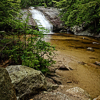 Beede Falls, Sandwich Notch Road, New Hampshire.