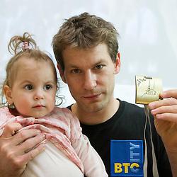 20120529: SLO, Gymnastics - Bronze medalist at European Championship Mitja Petkovsek of Slovenia