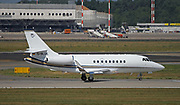 Dassault Falcon 2000EX Business Jet operated by ACM Air Charter Photographed at Malpensa (MXP / LIMC), Milan, Italy