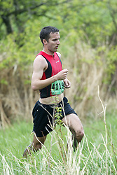 """(Kingston, Ontario---16/05/09) """"Patrick Foran finished 4 in the men's 10-12 km Enduro Race at the 2009 Salomon 5 Peaks Trail Running series Race held in Kingston, Ontario as part of the Eastern Ontario/Quebec division.""""  Copyright photograph Sean Burges/Mundo Sport Images, 2009. www.mundosportimages.com / www.msievents.com."""