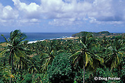 southeast coast, Saint Vincent,  St. Vincent & the Grenadines, West Indies ( Eastern Caribbean Sea )