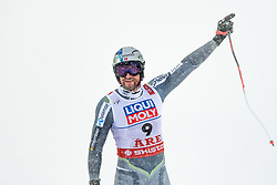 February 9, 2019 - …Re, SWEDEN - 190209 Aksel Lund Svindal of Norway  celebrates after competing in men's downhill during the FIS Alpine World Ski Championships on February 9, 2019 in Ã…re..Photo: Joel Marklund / BILDBYRÃ…N / kod JM / 87853 (Credit Image: © Joel Marklund/Bildbyran via ZUMA Press)
