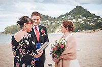 Sarah & Nick's elopement wedding in Tairua with Sunlover Retreat a beautiful winter wedding on the Coromandel Peninsula Felicity Jean Photography