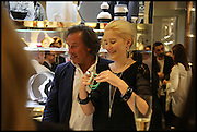 ANDY HARRIS; MILLIE WATSON, Dinosaur Designs launch of their first European store in London. 35 Gt. Windmill St. 18 September 2014