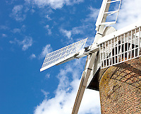 Close-Up of British Windmill
