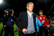 Onderwerp/Subject: Heracles Almelo - Eredivisie<br /> Reklame:  <br /> Club/Team/Country: <br /> Seizoen/Season: 2014/2015<br /> FOTO/PHOTO: Coach Jan DE JONGE of Heracles Almelo dejected after the match ( 3 - 1 ). (Photo by PICS UNITED)<br /> <br /> Trefwoorden/Keywords: <br /> #03 #09 $94 ±1401918822084<br /> Photo- & Copyrights © PICS UNITED <br /> P.O. Box 7164 - 5605 BE  EINDHOVEN (THE NETHERLANDS) <br /> Phone +31 (0)40 296 28 00 <br /> Fax +31 (0) 40 248 47 43 <br /> http://www.pics-united.com <br /> e-mail : sales@pics-united.com (If you would like to raise any issues regarding any aspects of products / service of PICS UNITED) or <br /> e-mail : sales@pics-united.com   <br /> <br /> ATTENTIE: <br /> Publicatie ook bij aanbieding door derden is slechts toegestaan na verkregen toestemming van Pics United. <br /> VOLLEDIGE NAAMSVERMELDING IS VERPLICHT! (© PICS UNITED/Naam Fotograaf, zie veld 4 van de bestandsinfo 'credits') <br /> ATTENTION:  <br /> © Pics United. Reproduction/publication of this photo by any parties is only permitted after authorisation is sought and obtained from  PICS UNITED- THE NETHERLANDS