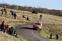 MOTORSPORT - WORLD RALLY CHAMPIONSHIP 2010 - WALES RALLY GB / RALLYE DE GRANDE-BRETAGNE - CARDIFF (GBR) - 11 TO 14/11/2010 - PHOTO : FRANCOIS BAUDIN / DPPI - <br /> HENNING SOLBERG (NOR) / STEPHANE PREVOT (BEL) - FORD FOCUS RS WRC 08 - STOBART M-SPORT FORD RALLY TEAM - ACTION