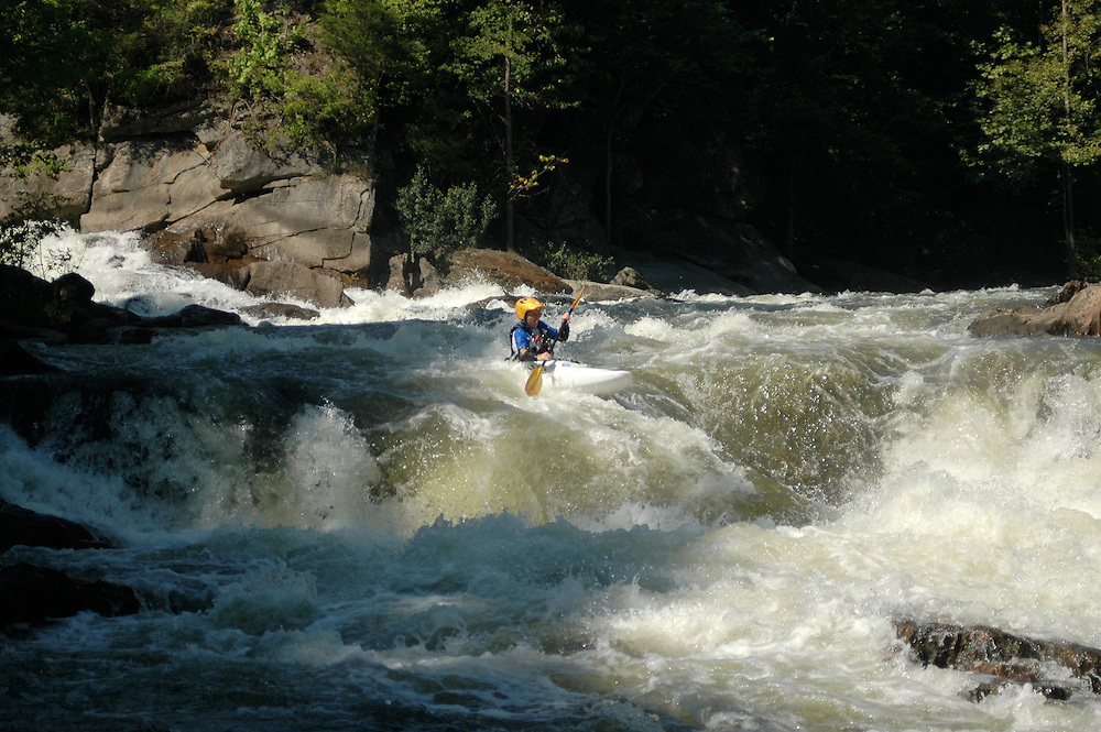 Whitewater Kayaking on the Housatonic River, Bulls Bridge Section