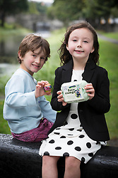 Repro Free:<br /> Charlie Knight and Ella Keegan are pictured at the launch of Ballyfree Free Range Eggs &ldquo;Shrinkies&rdquo;. A unique little cartoon character sleeve the fits onto an egg and shrinks onto it while boiling, making the humble egg a bit more exciting for small people.  <br />  <br /> Eggs are one of the few grocery categories that have enjoyed steady growth over the last few years with sales increased by +6% (Kantar Worldpanel Aug 2014).  Ballyfree Free Range eggs are hoping to capitalise on this increasing demand and encourage parents of young children to eat more eggs. Picture Andres Poveda<br />  <br /> For Further info:<br /> Aisling Roche<br /> 087 9881583<br /> aisling@armsmarketing.com