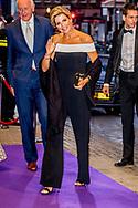 AMSTERDAM - Koningin Maxima is aanwezig bij de opening van het nieuwe seizoen van het Koninklijk Concertgebouworkest, RCO Opening Night in het Koninklijk Concertgebouw Amsterdam. De koningin is beschermvrouwe van het orkest. ANP ROYAL IMAGES ROBIN UTRECHT