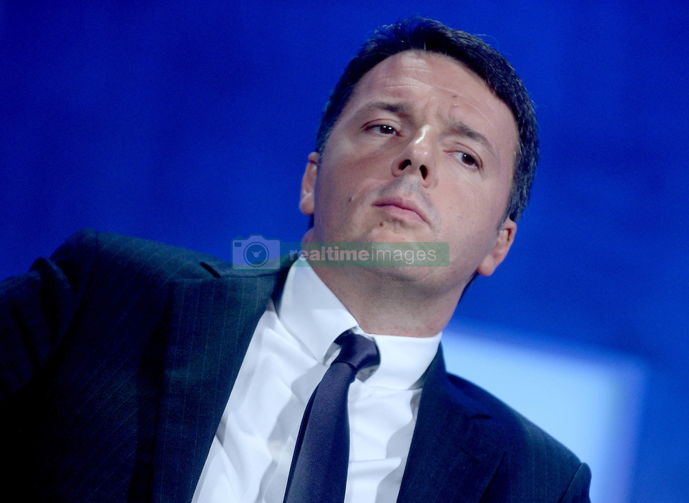 Matteo Renzi at The Business And Political Leaders Attend Clinton Global Initiative Annual Meeting in New York, September 19th 2016.