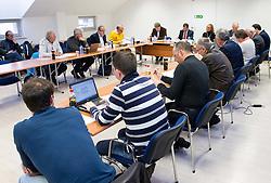 Meeting of Executive Committee of Ski Association of Slovenia (SZS) on March 10, 2014 in SZS, Ljubljana, Slovenia. Photo by Vid Ponikvar / Sportida