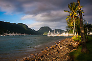 Pago Pago harbour, Tutuila island, American Samoa, South Pacific