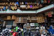 Birds for sale in market<br /> Pasar Pramuka bird market<br /> Jakarta<br /> Indonesia