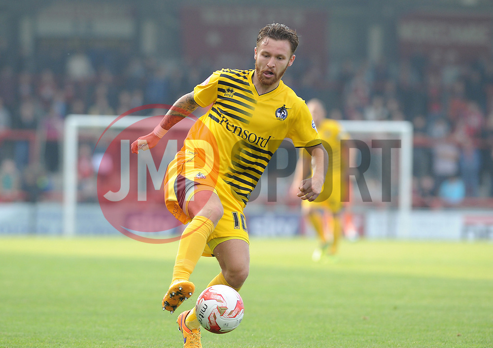 Matt Taylor of Bristol Rovers - Mandatory byline: Neil Brookman/JMP - 07966 386802 - 03/10/2015 - FOOTBALL - Globe Arena - Morecambe, England - Morecambe FC v Bristol Rovers - Sky Bet League Two