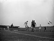 23/9/1959<br /> 9/23/1959<br /> 23 September 1959 <br /> Soccer, football: European Cup, Shamrock Rovers v Nice at Dalymount Park, Dublin.