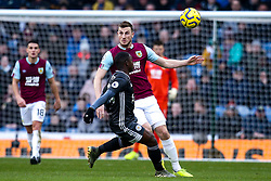 Chris Wood of Burnley - Mandatory by-line: Robbie Stephenson/JMP - 19/01/2020 - FOOTBALL - Turf Moor - Burnley, England - Burnley v Leicester City - Premier League