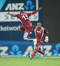 Wellington-Cricket, Twenty20, New Zealand v West Indies,  January 15