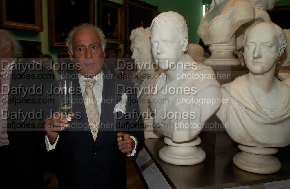 John Stefanides. Celebration of Lord Weidenfeld's 60 Years in Publishing hosted by Orion. the Weldon Galleries. National Portrait Gallery. London. 29 June 2005. ONE TIME USE ONLY - DO NOT ARCHIVE  © Copyright Photograph by Dafydd Jones 66 Stockwell Park Rd. London SW9 0DA Tel 020 7733 0108 www.dafjones.com