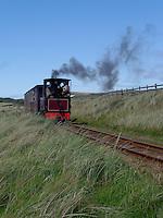 steam locomotive..