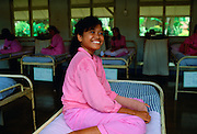 Patient in the Sitanala Leprosy Hospital in Jakarta, Indonesia