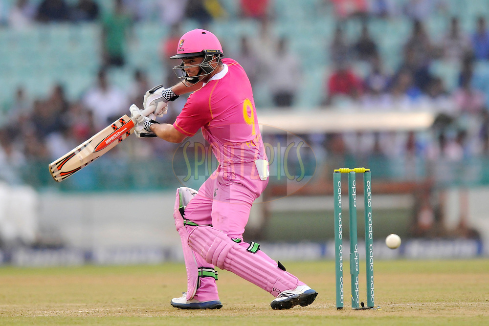Daniel Flynn of Northern Districts bats during the qualifier 3 match of the Oppo Champions League Twenty20 between the Northern Knights and the Lahore Lions held at the Chhattisgarh International Cricket Stadium, Raipur, India on the 14th September 2014<br /> <br /> Photo by:  Pal Pillai / Sportzpics/ CLT20<br /> <br /> <br /> Image use is subject to the terms and conditions as laid out by the BCCI/ CLT20.  The terms and conditions can be downloaded here:<br /> <br /> http://sportzpics.photoshelter.com/gallery/CLT20-Image-Terms-and-Conditions-2014/G0000IfNJn535VPU/C0000QhhKadWcjYs