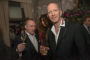 ANDREW ROBERTS; SIMON SEBAG-MONTEFIORE;  The inaugural Cliveden Literary Festival announcement. Cadogan Gardens. London. 15 May 2017
