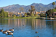 Rancho Santa Margarita Lake, Orange County California