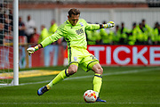 Birmingham City goalkeeper Tomasz Kuszczak during the EFL Sky Bet Championship match between Bristol City and Birmingham City at Ashton Gate, Bristol, England on 7 May 2017. Photo by Andrew Lewis.